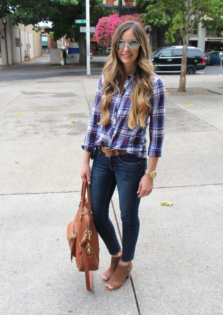 COOL TONED PLAID